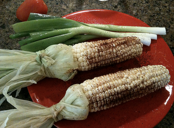 Elote - Mexican Grilled Corn on the Cob - HowToMakeRibs.com