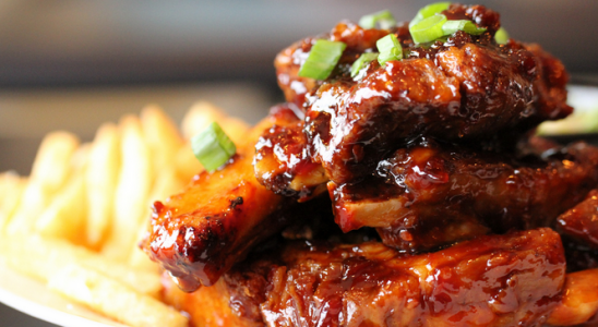 honey pepper grilled ribs