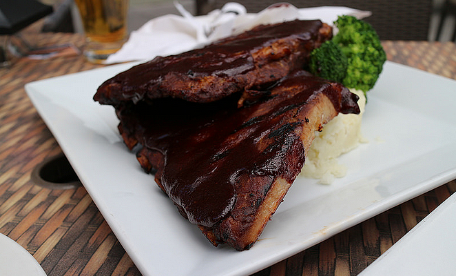 Grilled Whiskey Baby Back Ribs